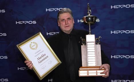 Markku Nieminen valittiin vuoden valmentajaksi.