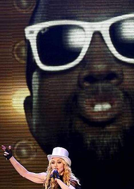 Kanye West vieraili videotaululla.