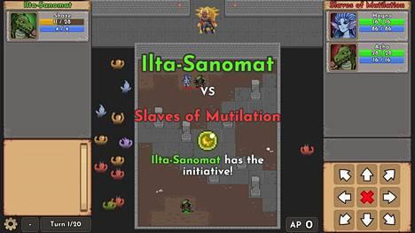 Ilta-Sanomien ainoa gladiaattori, liskomies Shaze kohtaa Slaves of Mutilation -joukkueen.