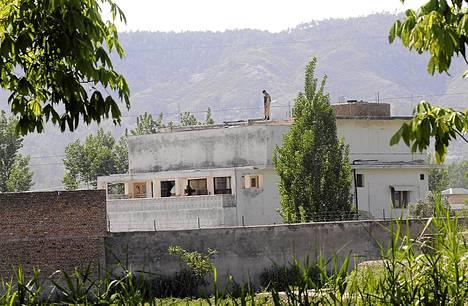 Tässä rakennuksessa Pakistanin Abbotabadissa Osama bin Laden surmattiin.