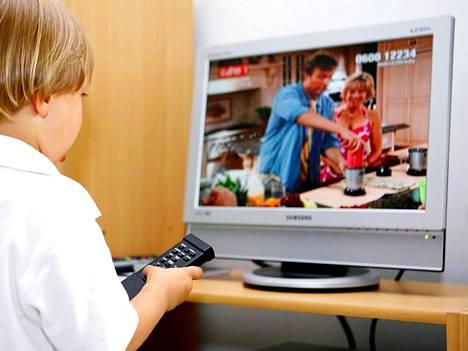 TVkaistan avulla tallennettuja ohjelmia voi katsoa myös tv-ruudulta, jos televisio on kytketty tietokoneeseen.