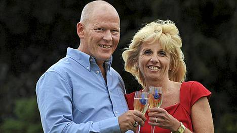 Dave ja Angela Dawes.