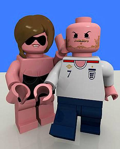 Victoria ja David Beckham.