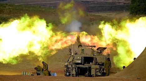 Israelista tulitettiin Gazaa juuri ennen tulitauon alkua.
