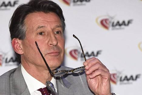 Sebastien Coe toimii nykyisin IAAF:n puheenjohtajana.