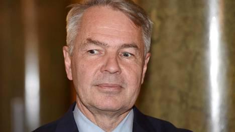 Ulkoministeri Pekka Haavisto kuvattiin Helsingissä 18. lokakuuta 2019.