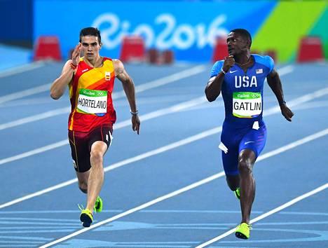 Bruno Hortelano juoksi Espanjan väreissä Rion olympiakisoissa.