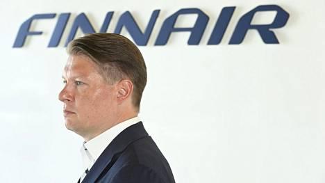 Finairin toimitusjohtaja Topi Manner esitteli yhtiönsä puolivuosikatsauksen Vantaalla 15. heinäkuuta 2021.