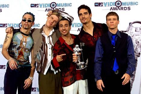 Backstreet Boys vuonna 1998...