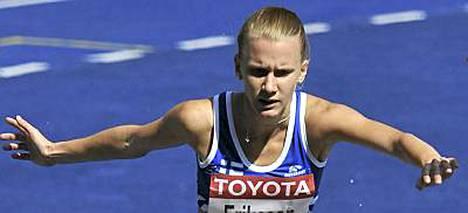 Sandra Eriksson oli mukana myös vuoden 2009 Berliinin MM-kisoissa.