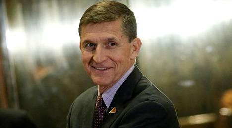 Michael Flynn toimi lyhyen aikaa Trumpin turvallisuusneuvonantajana. Hän on tullut tunnetuksi salaliittoteorioiden kannattajana.
