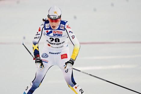Ruotsin Ebba Andersson kärsii hengitysteiden ärsytyksestä, eikä hän hiihdä kilpaa lauantaina.