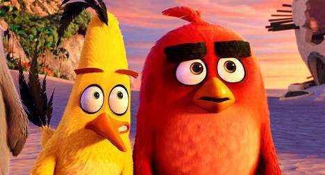 Sakke ja Red tutustuvat vihanhallintakurssilla.