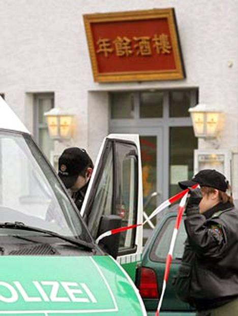 Sittensenin pikkukaupungin kiinalaisravintolassa paljastui joukkosurma.