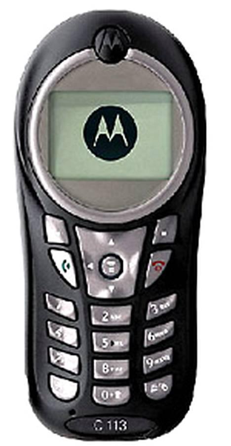 Motorola C11 -gsm-puhelinta toimitettiin kehittyville markkinoille ainakin kuusi miljoonaa kappaletta.
