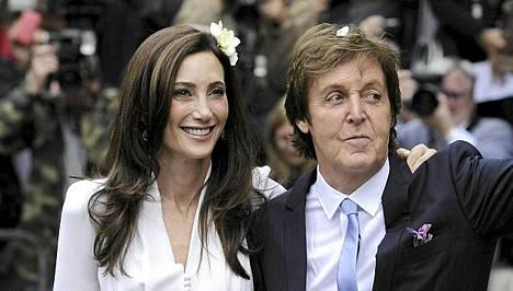 Sir Paul McCartneyn ja Nancy Shevellin häitä juhlittiin viime sunnuntaina.