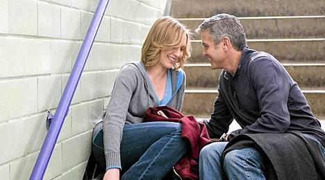 George Clooney ja Vera Farmiga ovat pääosassa Up in the Airissa.