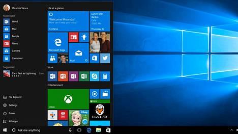 Nykyisen muotoinen Windows 10:n käynnistysvalikko ei miellytä kaikkia. Jatkossa sitä pääsee räätälöimään itse.