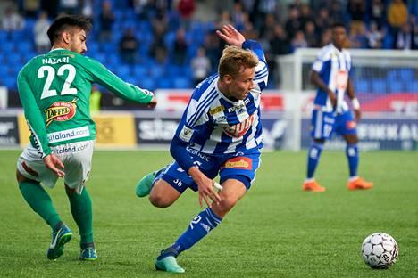 Kausi 2018 oli Vertaisen paras HJK:ssa. 19 ottelussa ja 913 peliminuutissa syntyi neljä liigamaalia.