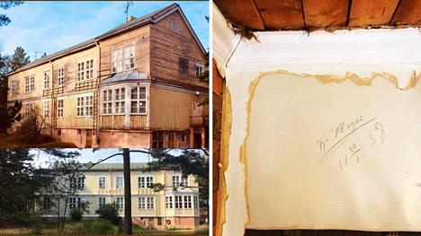 """Anna Wichmann osti vanhan tuberkuloosiparantolan ja rakensi siitä kodin itselleen ja perheelleen. Tilaa on myös vuokralaisille. """"Monet luulevat, että olemme rikkaita, kun teemme tällaista hommaa. Tosiasiassa olemme vain ahkeria ja pidämme vanhojen talojen kunnostamisesta"""", Wichmann sanoo."""