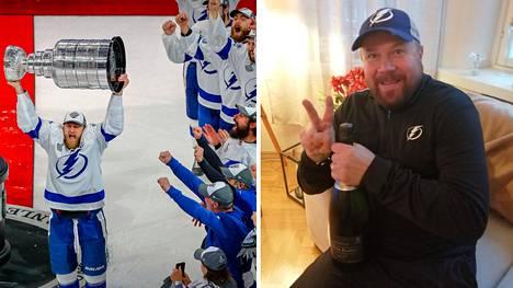 Tampa Bay Lightning jyräsi NHL:n mestariksi. Kari Kettunen on seuran Euroopan kykyjenetsijä.