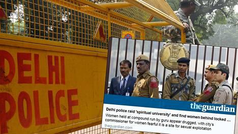 Delhin poliisi teki aikaisemmin kuluvalla viikolla järkyttävän löydön kaupungin luoteisosasta. Kuvituskuva.