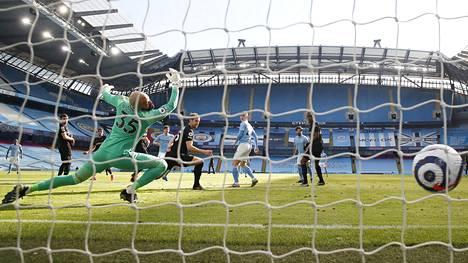 20 voittoa putkeen! Manchester Citylle ei löydy pysäyttäjää