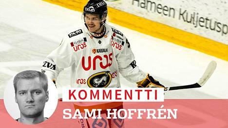 Kärppien Miihkali Teppo on sivussa kaksi ottelua pelikiellon takia.