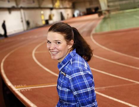 Maarit Valtonen on Kihun ja Olympiakomitean ylilääkäri.