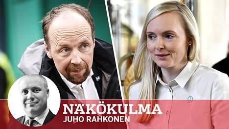 Keskustan rämpiessä poliittisen kentän voittajia ovat perussuomalaiset ja vihreät. Jussi Halla-aho johtaa perussuomalaisia. Maria Ohisalon johtaman vihreiden kovin nousu nähtäneen muutaman vuoden päästä.