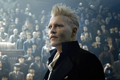 Johnny Depp näyttelee pimeyden velhoa Ihmeotukset-sarjan toisessa osassa.