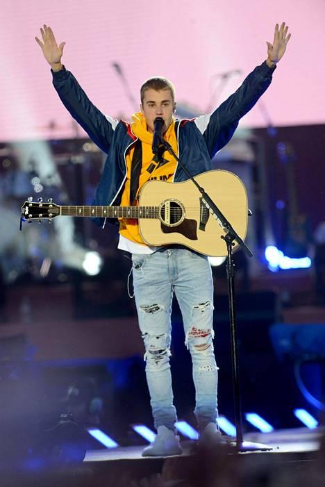 Justin Bieber on Hillsongin jäsenistä tunnetuin.