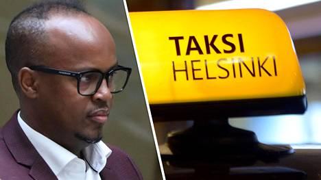 """Taksi Helsingin toimitusjohtaja kommentoi Abdirahim """"Husu"""" Husseinin valehtelua."""