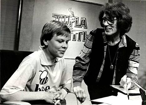Vuonna 1984 vain 15-vuotias Harri Hursti vakuutti ohjelmointitaidoillaan Tupla tai kuitti -tietokilpailussa.