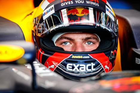 Verstappen Itävallassa 2017.