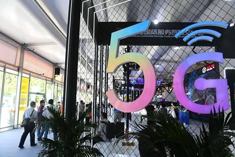 Kiina on rakentanut 5g-yhteyksiä jo kymmeniin suurkaupunkeihinsa. Kuva Pekingistä.