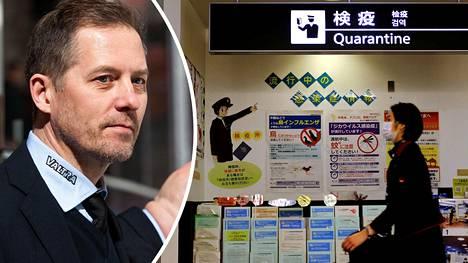 Japanissa kiekkovalmentajana työskentelevän Ari-Pekka Siekkisen paluu työpaikalleen ei onnistunut viikonloppuna.