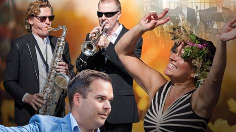 Kaikki laulaa Salmelassa -konseptissa Arja Koriseva ja Mikael Konttinen johdattavat yleisön laulamaan ja Salmela House Band loihtii musiikin.