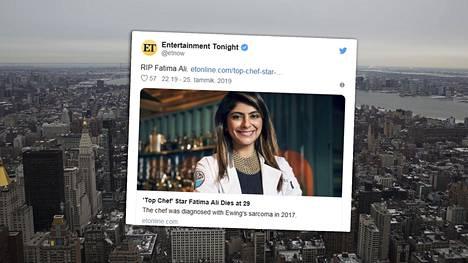 Newyorkilainen Fatima Ali oli yleisön suosikki Top Chef -ohjelman 15. kaudella.