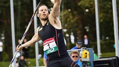 Tero Pitkämäki varmisti lauantain voitollaan Eliittikisasarjan ykkössijan.