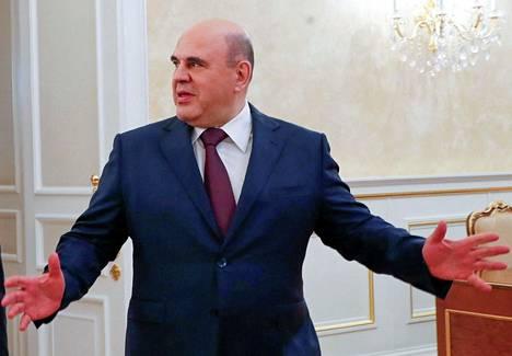 Venäjän pääministeri Mihail Mishustin tienasi kaksi kertaa niin paljon kuin presidentti Putin.