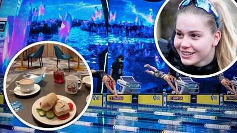 Uinnin ISL-liiga on käynnissä Budapestissä. Liigaan kutsuttu Ida Hulkko, 21, kertoi Ilta-Sanomille Budapestin koronakuplan tarkoista säännöistä ja rajoituksista, muun muassa yhden hengen pöydistä ruokaillessa.