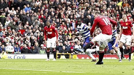 Wayne Rooney ei erehtynyt pilkulta.