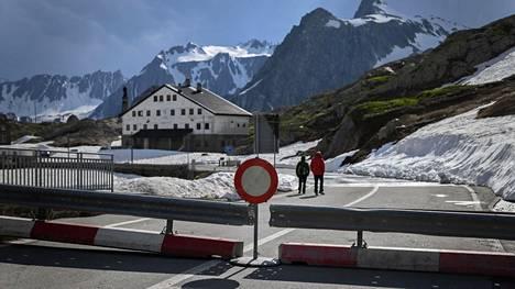 Italian ja Sveitsin välinen raja oli kiinni 2. kesäkuuta 2020.
