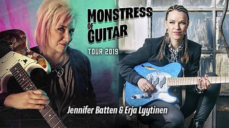 Monstress of Guitar – katso Erja Lyytisen ja Jennifer Battenin keikka suorana!