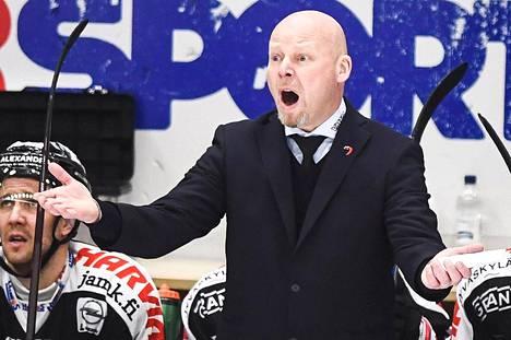 Marko Virtanen luotsasi JYPin CHL:n mestaruuteen tällä kaudella.