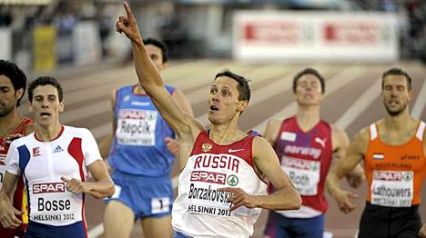 Juri Borzakovski jätti muut taakse loppukirissä.