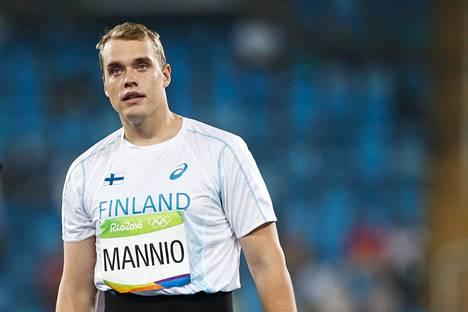 Ari Mannion viimeinen arvokisamatka suuntautui Rio de Janeiroon 2016. Olympiakisojen karsinnassa loppukilpailupaikka jäi kauas.