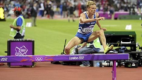Lontoon olympiafinaali jäi Jukka Keskisalon viimeiseksi.