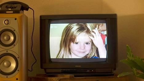 Madeleine McCannin kuva Saksan televisiossa vuonna 2013.
